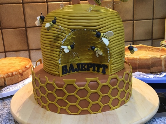 Kuchen zu meinem 70. Geburtstag