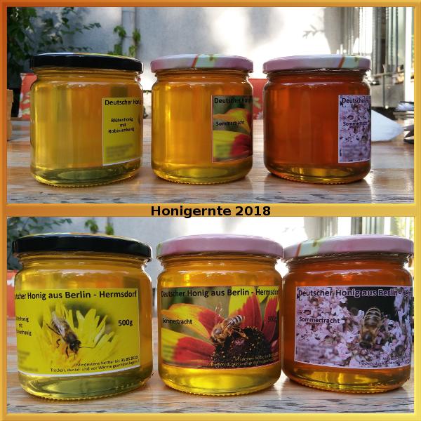 Honigernte 2018