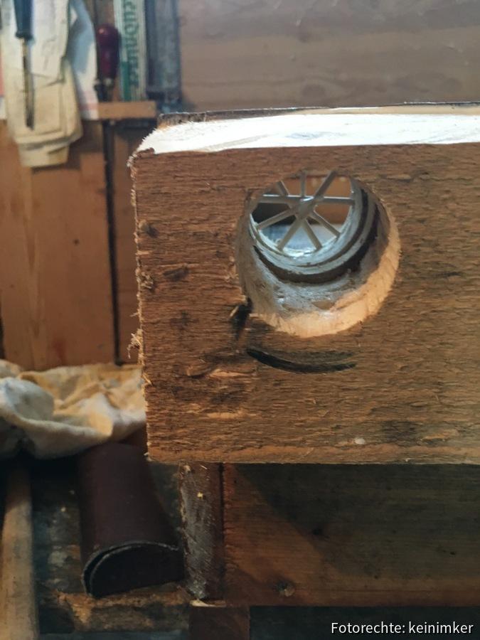 Flugloch, 40mm, rechts