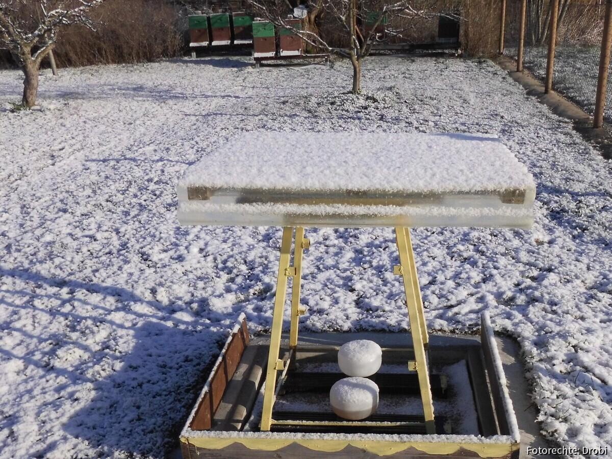 Tränke im Schnee
